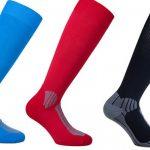 Chaussettes sport - fil guippé élastique