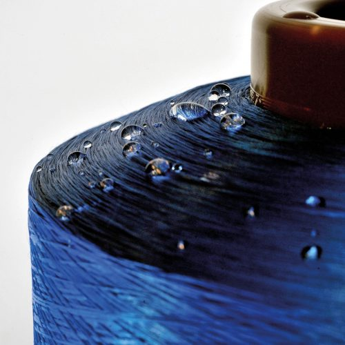 water repellant yarn coil